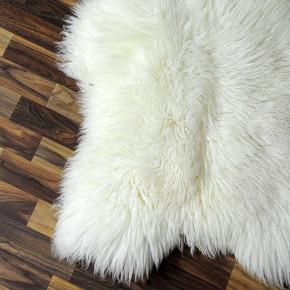 XL ÖKO Island Schaffell natur grau schwarzbraun 115x80 #7340