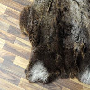 Wildschweinfell Wildschwein Fell 120x80 Mittelalter #8135