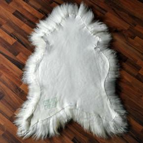 XXL ÖKO Island Schaffell Lammfell natur weiß 120-130cm x 70-80cm